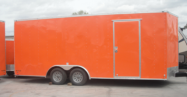 20×8.5 FOOT UTILITY TRAILER CAR HAULER