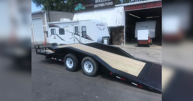20ft Tilt Bed Trailer Rental
