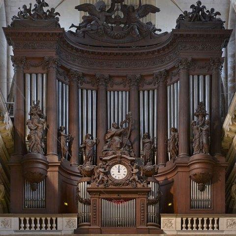 L'orgue de l'église Saint-Sulpice à Paris