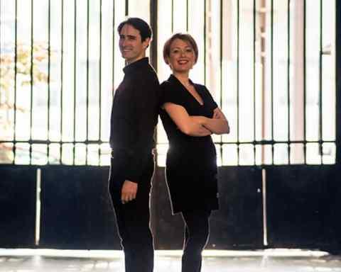 Emmanuel Christien et Céline Laly