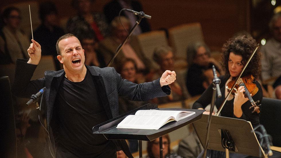 Yannick Nézet-Séguin renouvelé à vie avec l'Orchestre Métropolitain © François Goupil et l'Orchestre Métropolitain