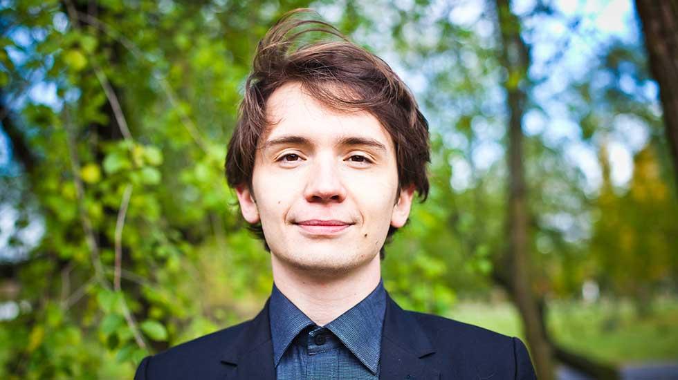 Karol Mossakowski est le nouvel organiste en résidence à Radio France