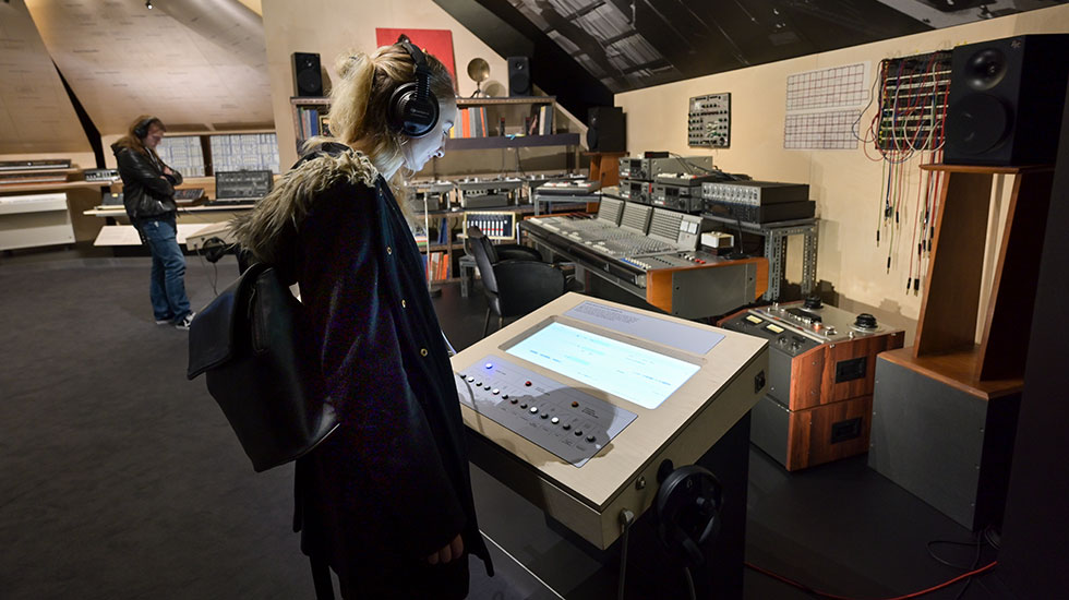 Visite du Studio Pierre Henry