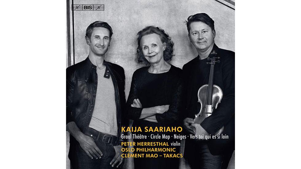 Kaija Saariaho à l'honneur sur le dernier disque de Clément Mao-Takacs