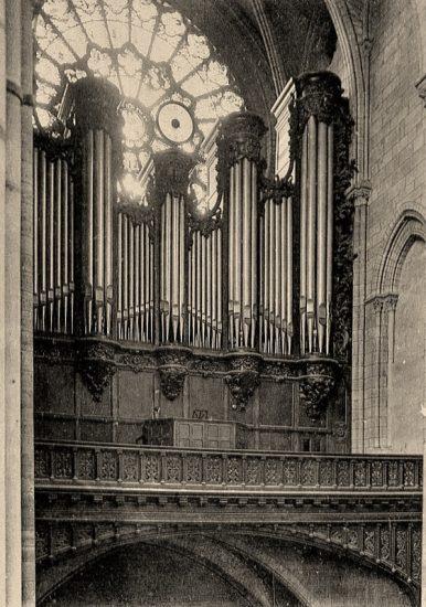L'orgue de Notre-Dame à l'époque de Vierne