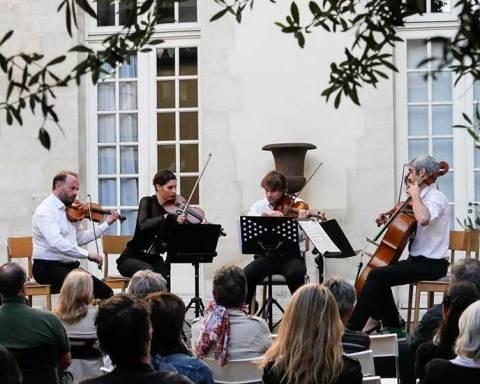 Photo d'un précédent festival de musique de chambre Artemusica à Paris
