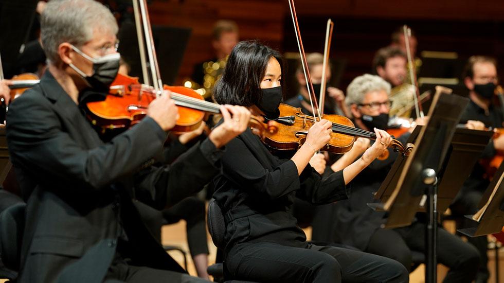 L'Orchestre national de France dirigé par Cristian Măcelaru à Radio France