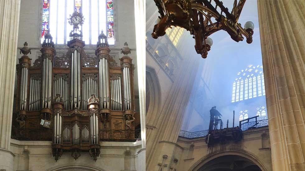 Le grand-orgue de la cathédrale de Nantes, avant/après