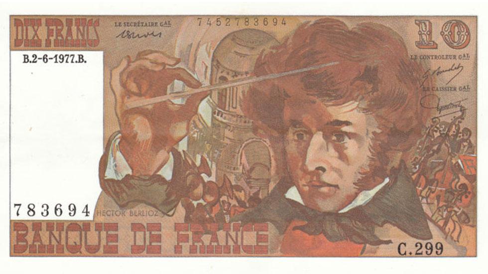 Billet 10 francs Berlioz