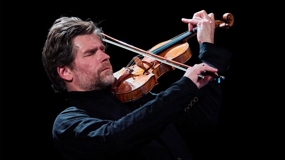 Nicolas Dautricourt et son violon