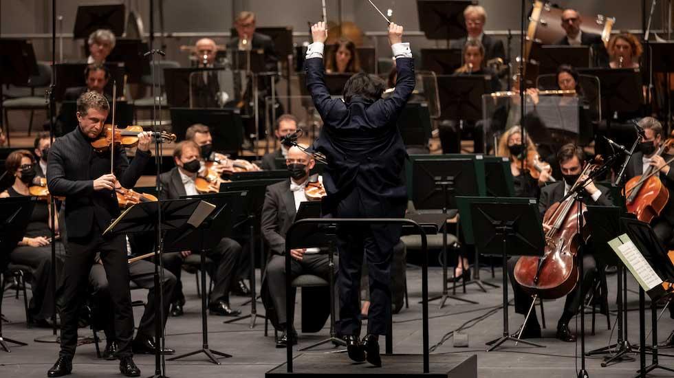 Tedi Papavrami avec l'Orchestre philharmonique de Monte-Carlo sous la direction de Kazuki Yamada
