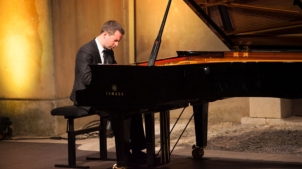 Bertrand Chamayou au festival de musique de Menton © DR