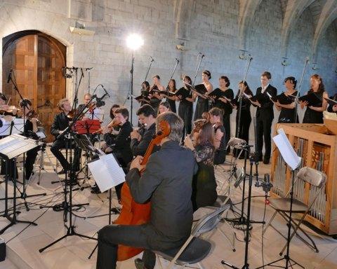Concert de l'Ensemble Zoroastre Savitri de Rochefort à l'Abbaye du Bec Hellouin © Musicncom