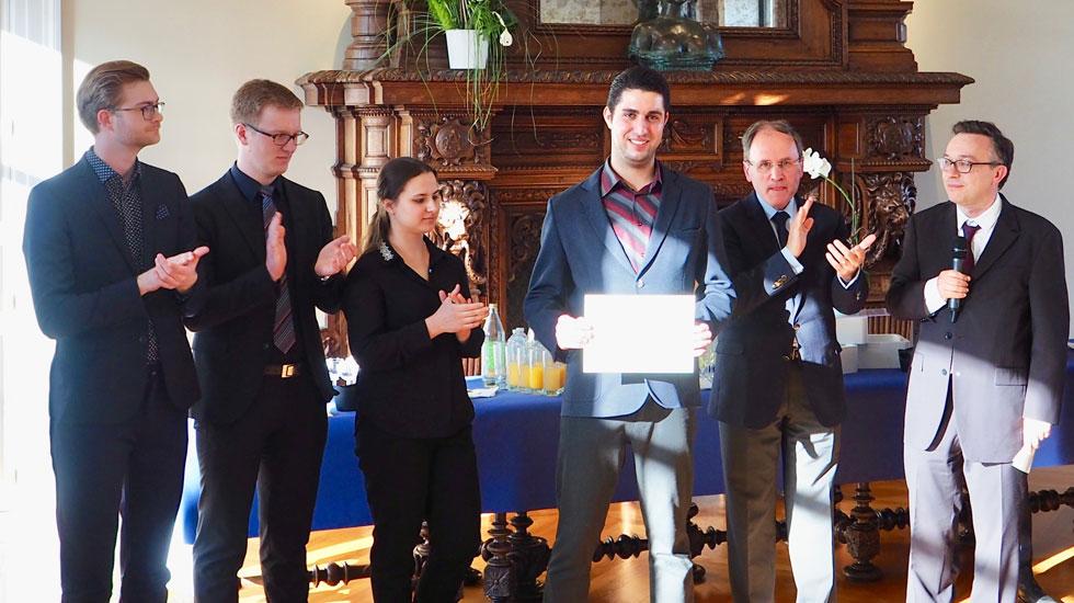 Le Grand Prix Jean-Louis Florentz-Académie des Beaux-Arts a été décerné à Emmanuel Culcasi