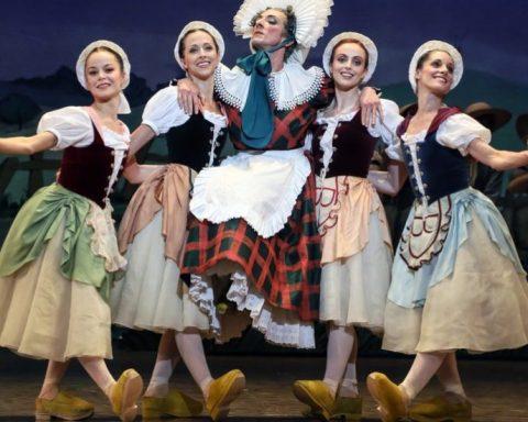 La Fille mal gardée / Ballet de l'Opéra national de Paris © Francette Levieux/ Opéra national de Paris