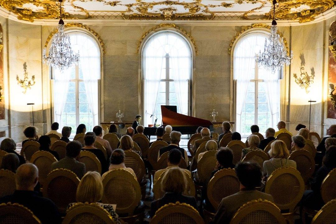 Le clavecin des Nations, nouvelles chambres de Sanssouci © Stefan Gloede / Festival Potsdam Sanssouci