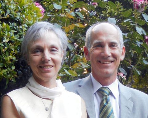 Jacqueline Letzter et Robert Adelson © DR