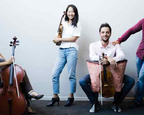 Le Quatuor Ellipse © Lyodoh Kaneko