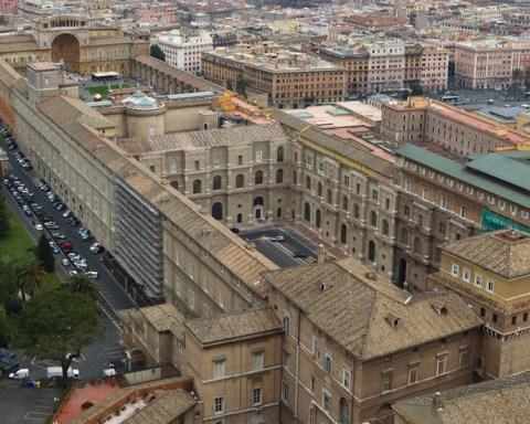 Vue général du Cortile del Belvedere © Di Superp - Opera propria, CC BY-SA 3.0