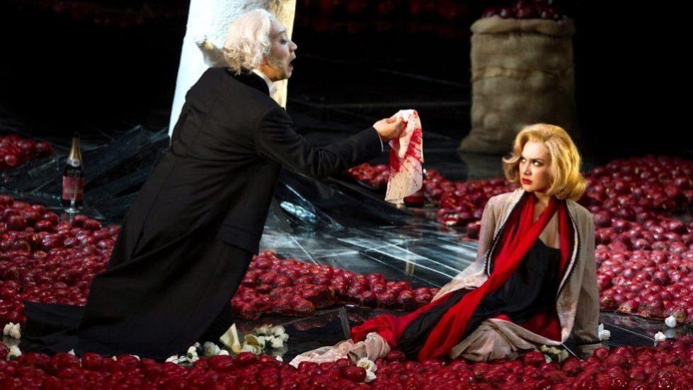 Mansoo Kim et Maria Mudryak dans la Traviata au Teatro Carlo Felice de Gênes © DR