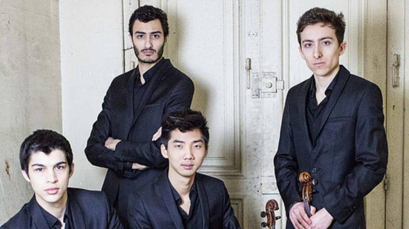 Le quatuor Arod © Verena Chen