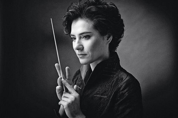 Marzena Diakun dirigeait l'Orchestre de chambre de Paris © Lukasz Rachjert