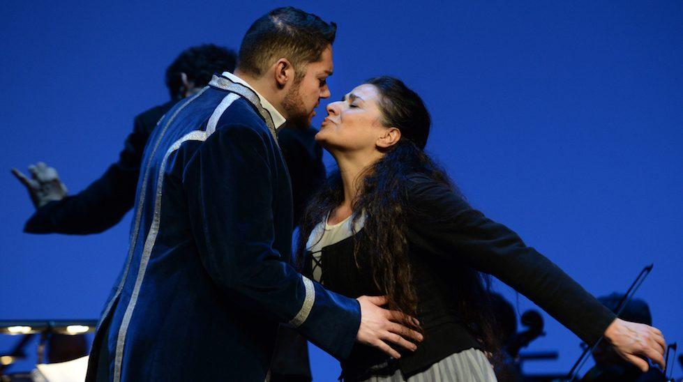 Don Ramiro (Edgardo Rocha) et Angelina (Cecilia Bartoli) dans La Cenerentola©2017 – Alain Hanel – OMC