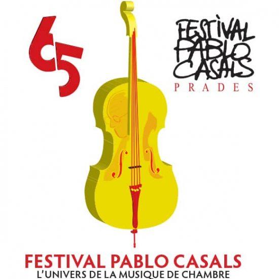 L'affiche du festivaal Pablo Casals de Prades