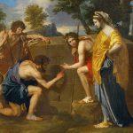 Les Bergers d'Arcadie (Et in Arcadia ego), 1638. Nicolas Poussin (1594-1665), Musée National du Louvre