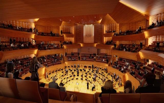 L'Auditorium avec son orgue à 96 jeux © Architecture Studio