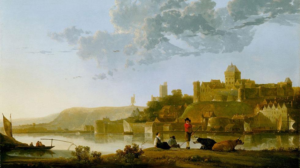 The Valkhof at Nijmegen Aelbert Cuyp (1620-1691) Graindelavoix