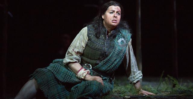 """Daniela Barcellona (Malcolm) dans """"La Donna del Lago"""" de Rossini"""