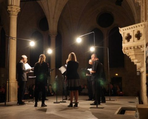 L'ensemble Graindelavoix au festival Royaumont © François Mauger / Royaumont