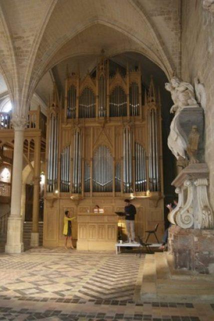 Abbaye de Royaumont, Orgue Cavaillé-Coll © Classicagenda