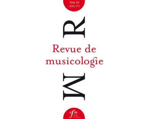 La Revue de Musicologie