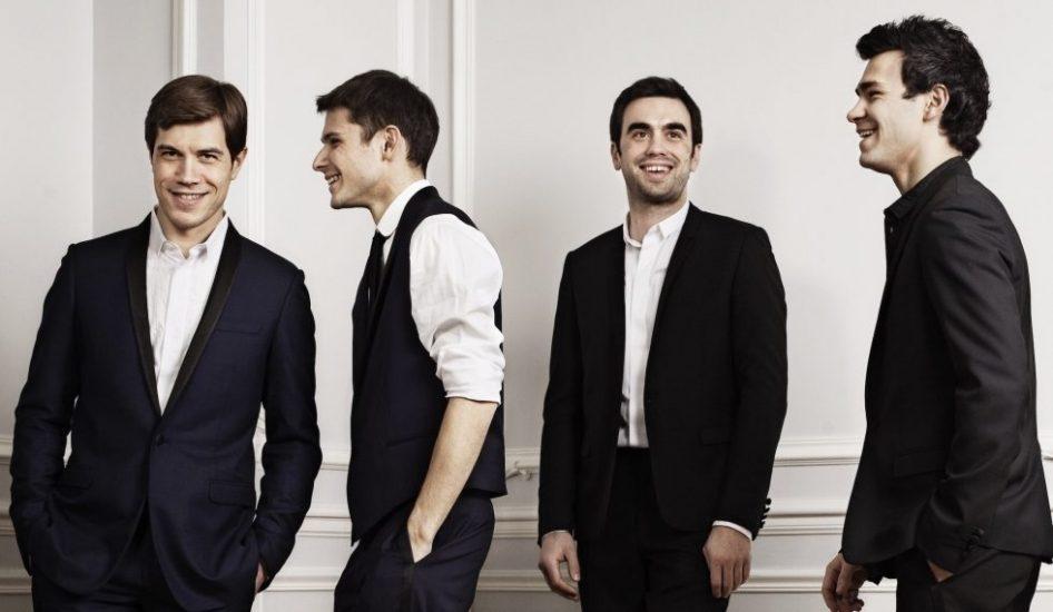 Quatuor Modigliani © DR
