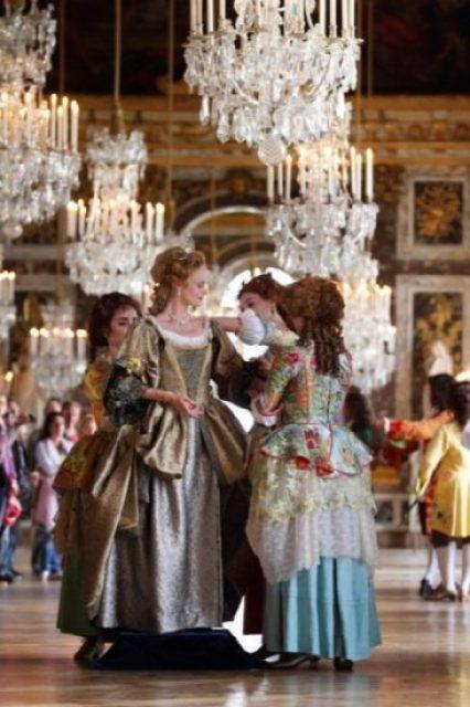 Les fêtes galantes à la Galerie des Glaces © Stéphane Bellocq