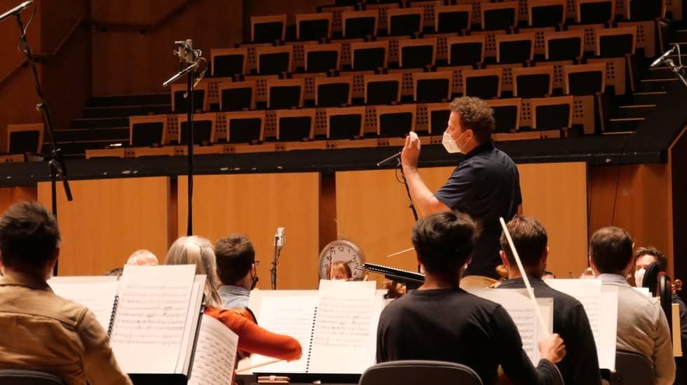 N.Szeps-Znaider et l'Orchestre National de Lyon Phot