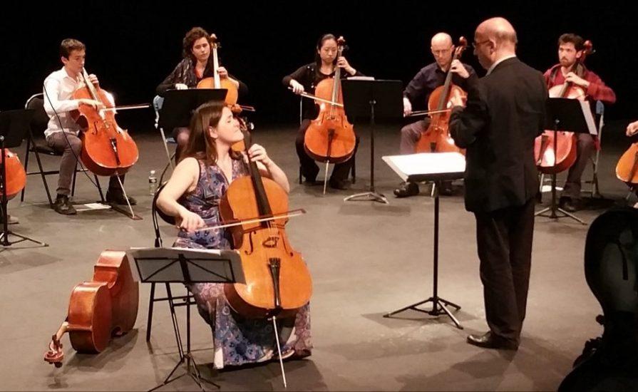Emmanuelle Bertrand interprète Kol Nidrei sous la baguette de Roland Pidoux
