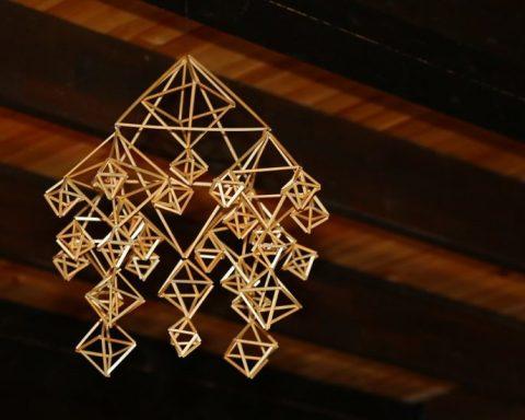 Himmeli, décoration de Noël finlandaise