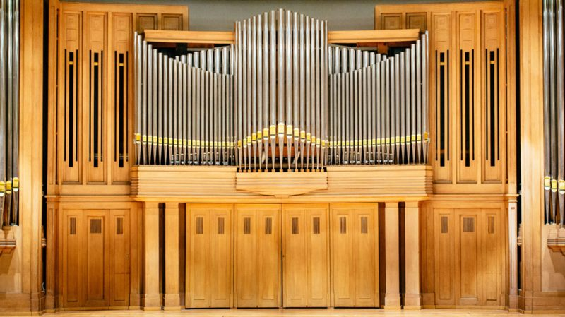 L'orgue de la Grande Salle Henry Le Boeuf @ Denis Erroyaux