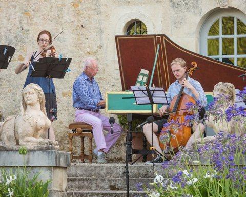 "Promenades musicales au festival ""Dans les jardins de William Christie"""