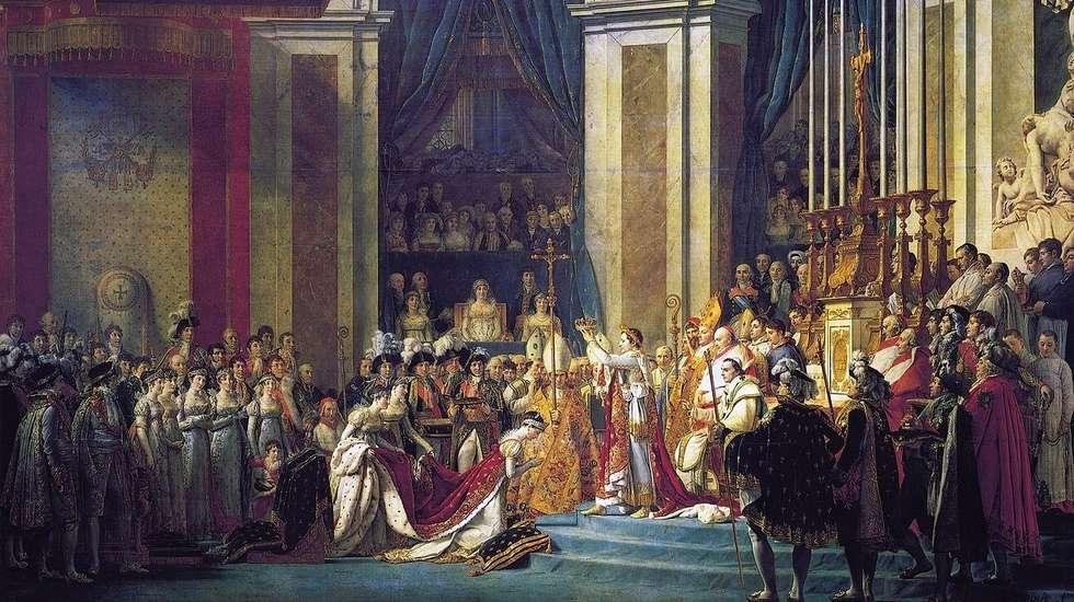 Le Sacre de Napoléon, Jacques-Louis David (1806-1807)