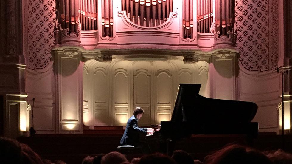 Maxence Pilchen en concert à Gaveau