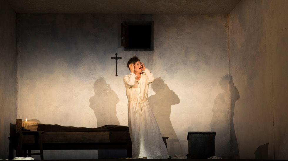 Anna Caterina Antonacci Sancta Susanna de Paul Hindemith à l'Opéra de Paris © Elisa Haber