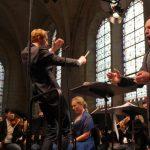 """Le Secession orchestra dans la """"Symphonie lyrique"""" avec Stéphane Degout et Elsa Dreisig au festival Royaumont © François Mauger / Royaumont"""
