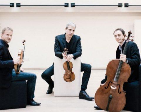 Le trio Sébastien Surel Paul Radais Aurélien Sabouret © DR