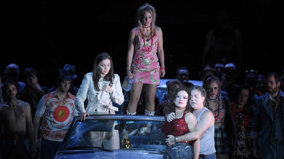 Carmen dans la mise en scène de Calixto Bieito © Vincent Pontet / Opéra national de Paris