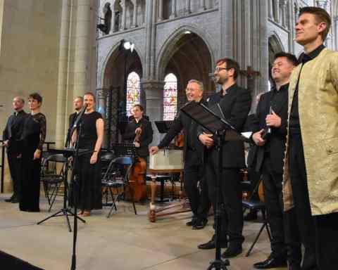 """""""Les Arts Florissants"""" et Pierre-François Dollé au festival de l'Abbaye de Saint-Michel-en-Thiérache"""