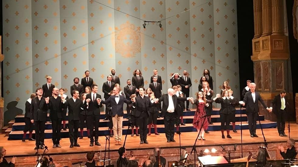 David et Jonathas à l'Opéra royal de Versailles